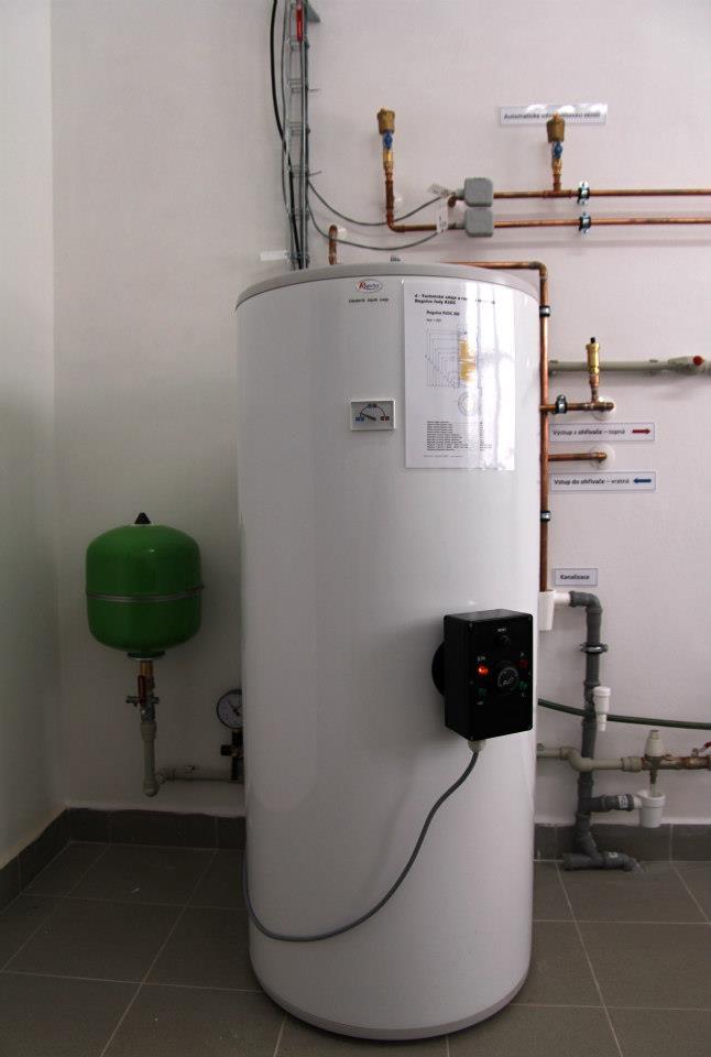 Akumulace teplé vody
