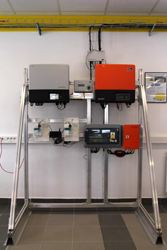 Řidicí systém fotovoltaické elektrárny